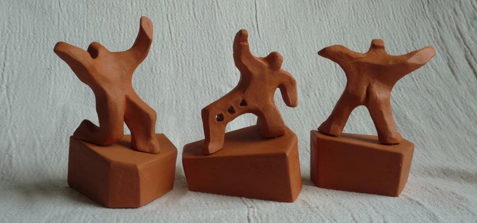 Terra cotta figures